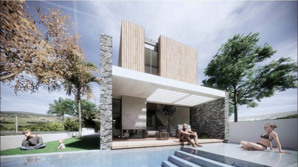 Casa con piscina Fuerteventura, villa Corralejo